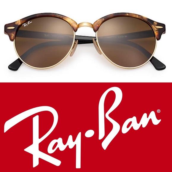 c9fae3cf5c RAY-BAN • Club Round Classic Sunglasses • NIB